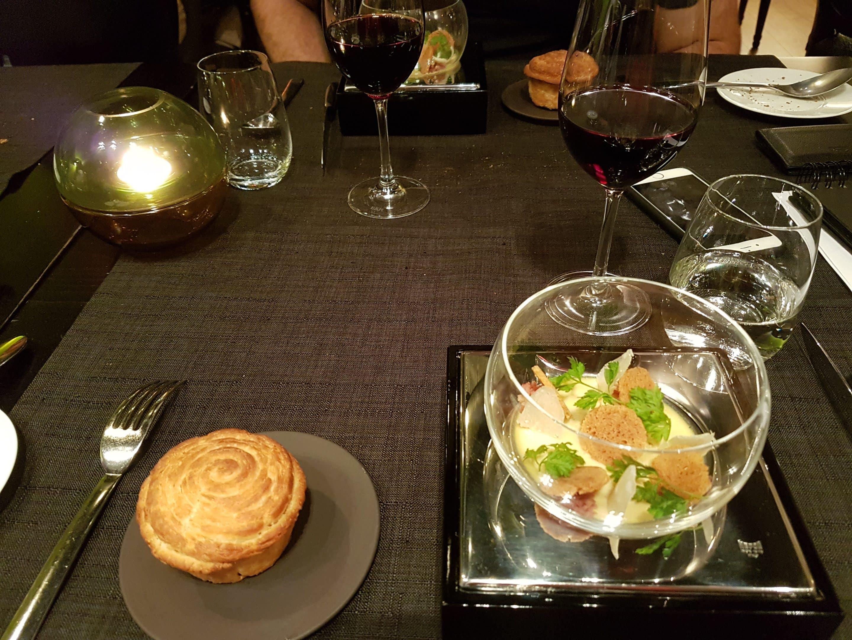 Le Petit Pois con Foie gras