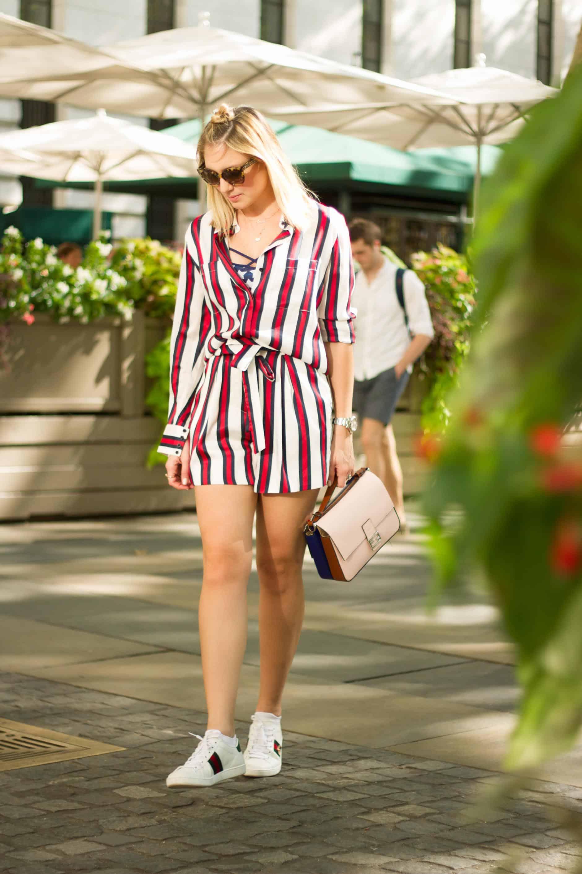 Stripes and Fendi